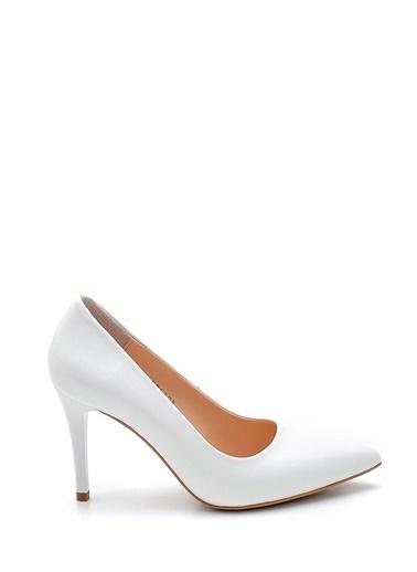 Derimod Kadın Stiletto (246-01) Gova/Stiletto Beyaz